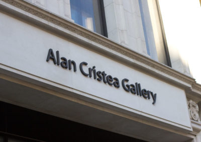 Built Up Letters for Alan Cristea Gallery