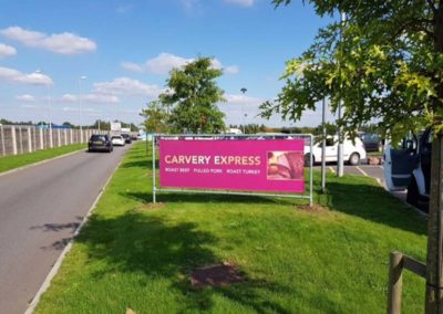 Banner Sign For Carvery Express