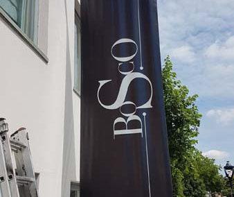 Banner Sign for Bosco Hotel