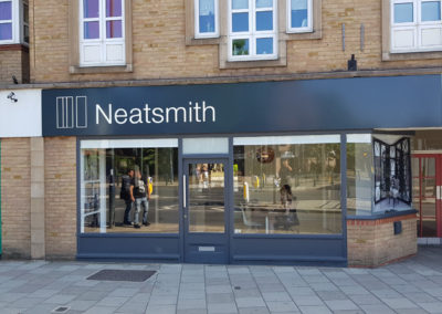 Fascia Signage for Neatsmith in Teddington
