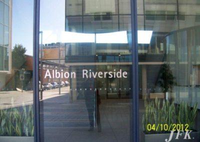 Vinyl Signage for Albion Riverside