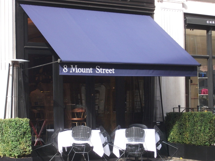 Awnings & Canopies for 8 Mount Street