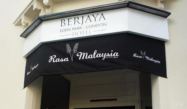 Awnings & Canopies for Berjaya Hotel