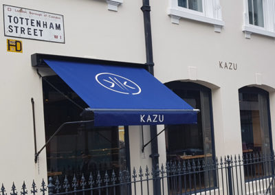 Awnings & Canopies for Kazu Restaurant