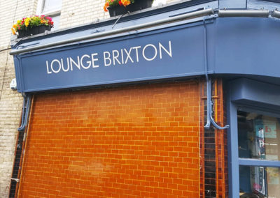 Vinyl Signage for Brixton Lounge