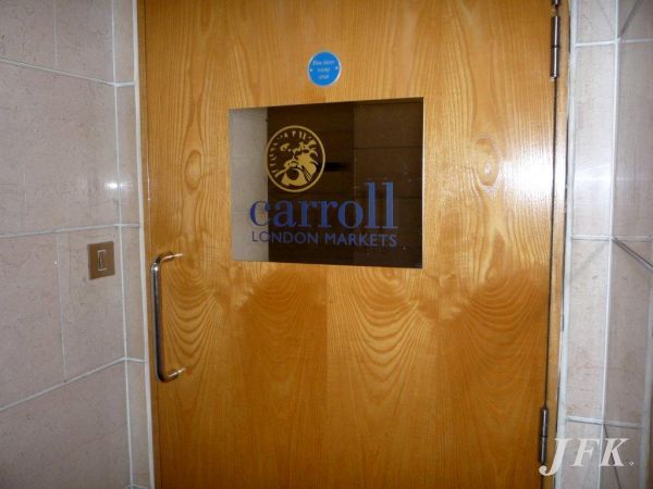 Stainless Steel Plaque for Carroll
