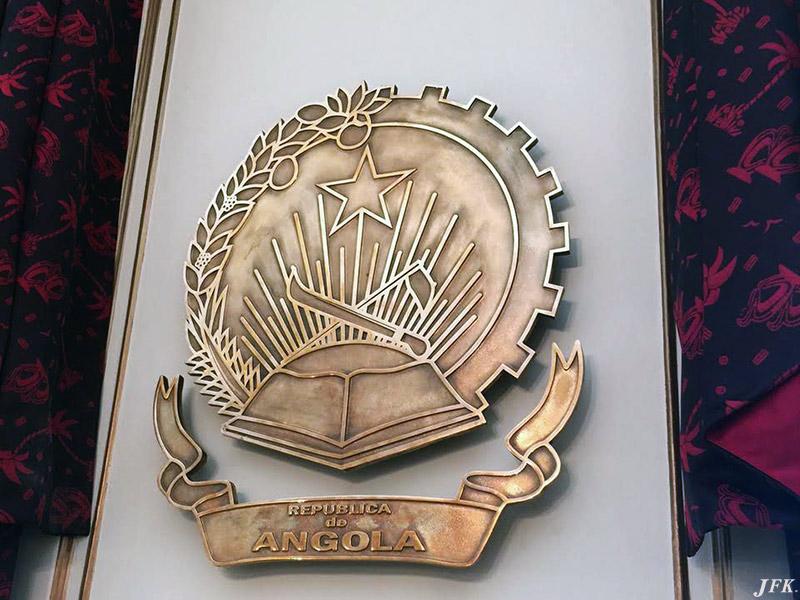 Bronze Plaque for Consulate Of Angola