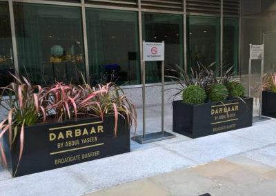 Vinyl Signage for Darbaar Indian Restaurant