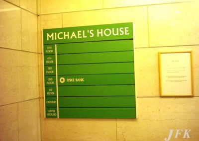 Directional Signs for St Michaels House