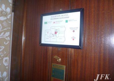 Vinyl Signage for Egerton Hotel
