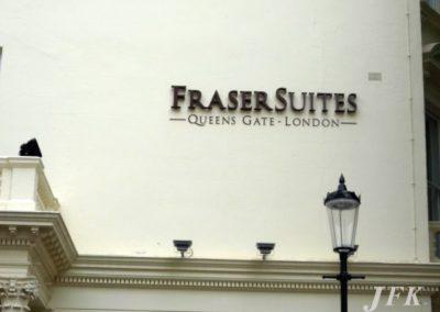 Built Up Letters for Fraser Suites
