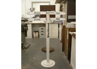 Freestanding Signs for Wooden Directional Sign