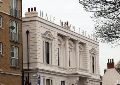 Built Up Letters for Half Moon Theatre