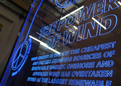 Illuminated Edge Lit Signs - JFK Complete Sign Service
