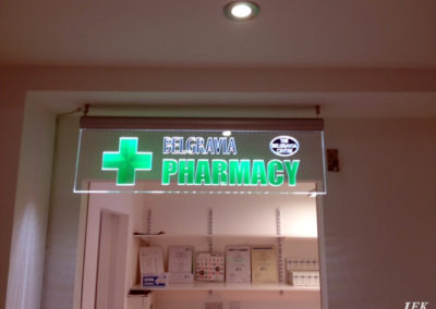 Illuminated Signs for Belgravia Centre