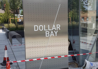 Illuminated Signs for Dollar Bay