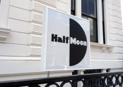 Illuminated Signs for Half Moon Theatre