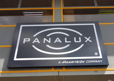 Illuminated Signs for Panavision