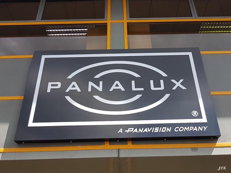 Illuminated Signs for Panavision