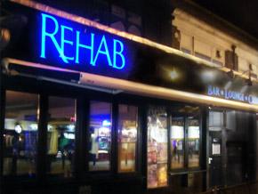 Illuminated Signs for Rehab Bar