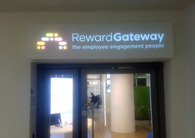 Illuminated Signs for Reward Gateway