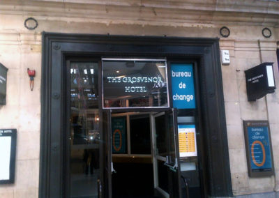 Illuminated Signs for The Grosvenor Hotel