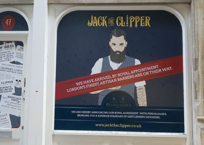 Vinyl Signage for Jack The Clipper