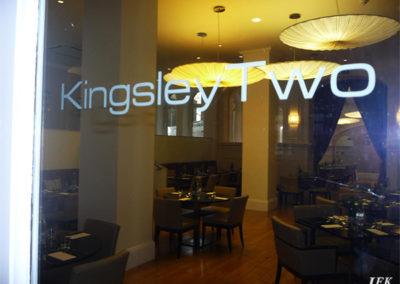 Vinyl Signage for Kingsley Two