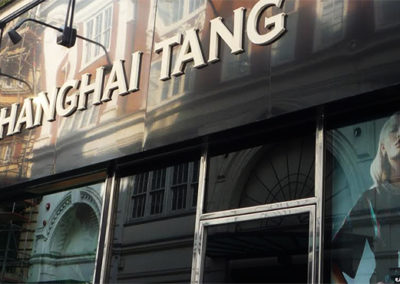 Fascia Signs for <A Href='Http://Www.Shanghaitang.Com'>Shanghai Tang</A>