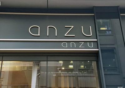Lettering & Fascias for Anzu Restaurant