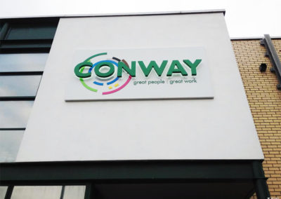 Lettering & Fascias for Conway