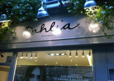 Fascia Signs for Dahlia Fashion  Boutique