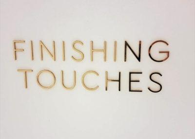 Lettering & Fascias for Four Seasons Ten Trinity Sqaure