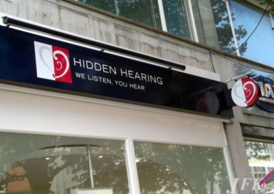 Fascia Signs for Hidden Hearing