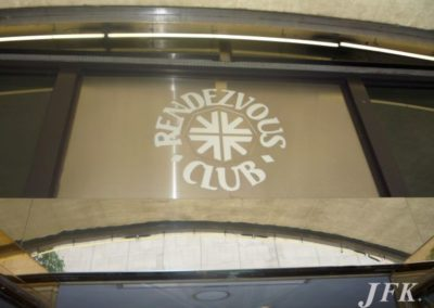 Fascia Signs for Rendezvous