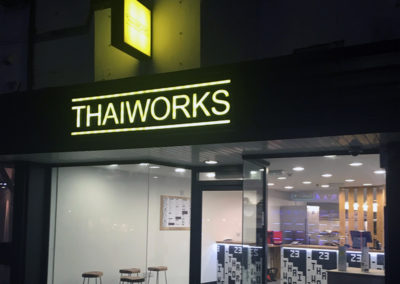 Lettering & Fascias for Thaiworks