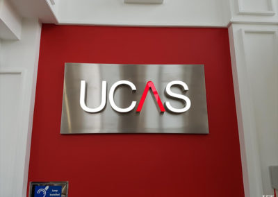 Lettering & Fascias for Ucas