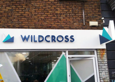 Fascia Signs for Wildcross Estate Agents