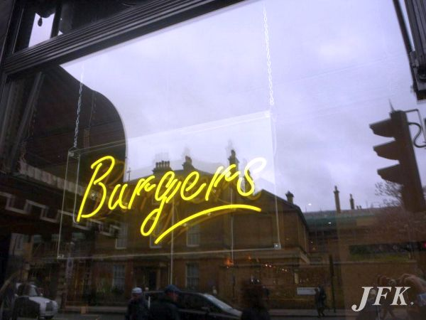 Neon Signs for B Bar