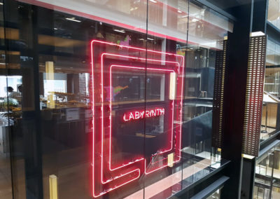 Neon Signs for Google Head Offices