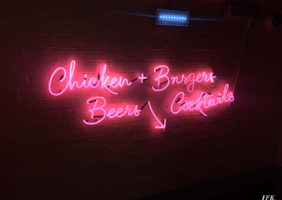 Neon Signs for Piano House