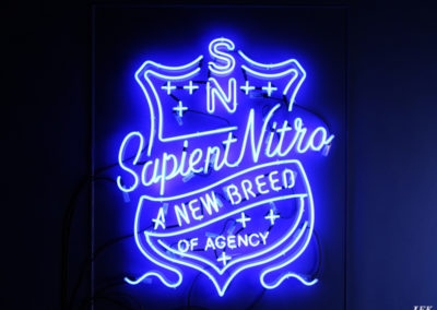 Neon Signs for Sapient Nitro Agency