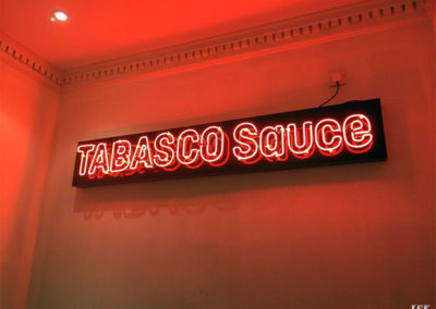 Neon Signs for #Tabascoharvest