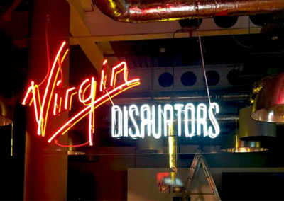 Neon Signs for Virgin Disruptors
