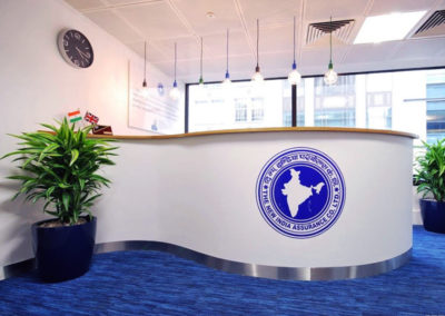 Vinyl Signage for New India Assurance