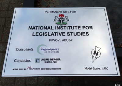 Stainless Steel Plaque for Nils