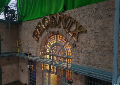 Built Up Letters for Pinewood Studios