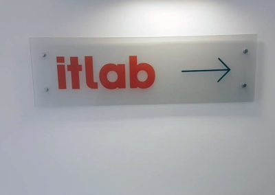 Plaques for It Lab