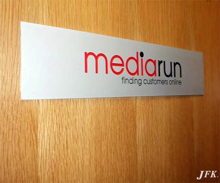 Aluminium Plaque for Mediarun