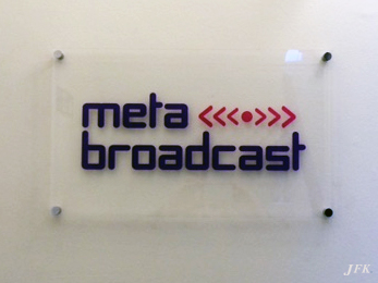 Plaques for Meta Broadcasting